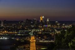 Cincinnati from Public Incline