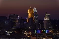 Cincinnati from Public Incline zoom