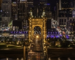 Roebling Bridge from the Ascent