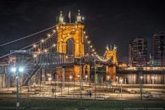 Roebling-Bridge from Smale Park