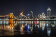 Cincy Skyline Reflections